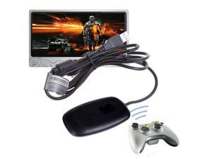 Jieyuteks USB Xbox 360 Wireless Receiver for Windows PC Controller to Computer Gaming Platform Adapter