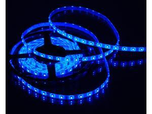 Triangle Bulbs T93003 BLUE LED Strip Light, Waterproof, Flexible, 300 LED's, 3528 SMD, Blue, 16.4 feet / 5M