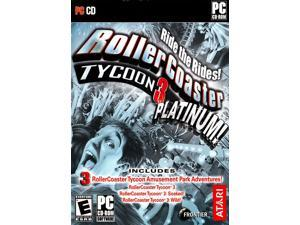 RollerCoaster Tycoon 3: Platinum [Download Code] - PC/Mac