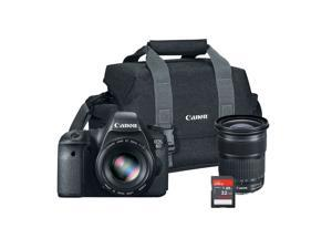 Canon EOS 6D 20.2MP Digital SLR Camera Bundle with 24-105mm Lens, 300DG Gadget Bag and 32GB SD Card