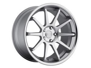 Concept One Cs-10 20X10.5 5X120 +25Et Matte Silver Machined Wheels Rims