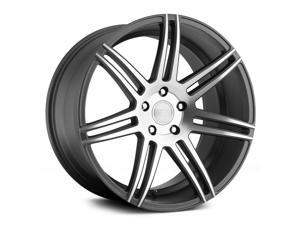 Concept One Csm-7 20X9 5X120 +18Et Matte Gunmetal Machined Wheels Rims
