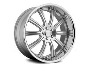 Concept One Rs-10 20X10 5X114.3 +20Et Silver Machined Wheels Rims