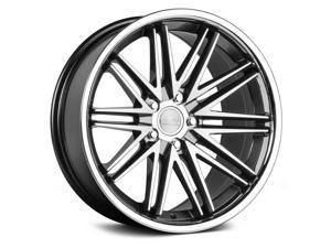 Concept One Cs-16 19X10 5X100/5X114.3 +35Et Matte Gunmetal Machined Wheels Rims