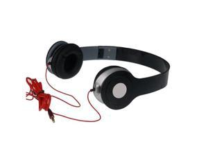 Adjustable Over-Ear Earphone Headphone 3.5mm For iPod iPhone MP3 MP4 PC Tablet Black