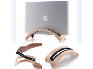 Wooden stand Dock for macbook air & macbook pro desk holder stand display rack