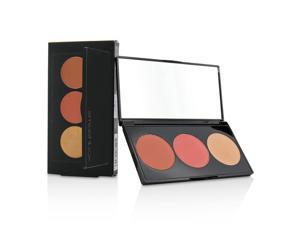 Smashbox L.A. Lights Blush & Highlight Palette - Culver City Coral 0.10Oz Blush Rich Coral, 0.10Oz True Coral, 0.10Oz Hi
