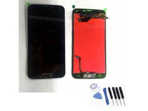 For Samsung Galaxy S5 i9600 G900A LCD Display Touch Digitizer Screen+Home Button Black