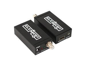 Element-Hz Single Coax HDMI Extender Over Single Coax with FFitting Connector + IR (up to 100m/328ft)