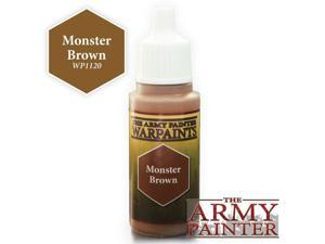 Warpaints: Monster Brown (18ml./0.6Oz.) The Army Painter APS WP1120