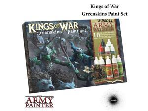 Warpaints: Kings of War: Greenskins The Army Painter War Paint Set APS WP8014