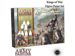Warpaints: Kings of War: Ogres War Paint Set (10) The Army Painter APS WP8017