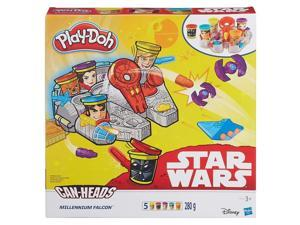 Play Doh Star Wars Millenium Falcon Molds 5ct Set Can-Heads Hasbro HSBB0002