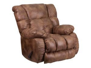 Contemporary, Breathable Comfort Padre Almond Fabric Rocker Recliner [WA-8230-691-GG]