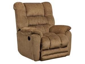 Flash Furniture AM-P9560-6450-GG Contemporary Temptation Fawn Microfiber Power Recliner with Push Button