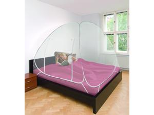 One Touch Pop-Up, Transparent, Breathable Mosquito Net