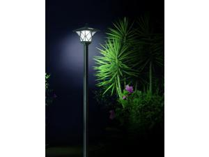Solar Powered LED Yard Lamp