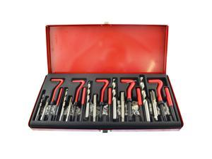 Thread installation and repair kit helicoil set 131pc metric sizes M5-M12 AN133