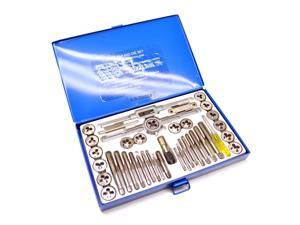 UNF / UNC imperial / af sae tap and die set 40pc kit / thread repair AT526