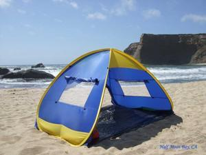 Genji Sports Instant Pop Up Family Beach Sun Shelter Tent & Genji Sports Tents Shelters u0026 Canopies - Newegg.com
