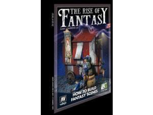 The Rise of Fantasy by Juan J. Barrena Fantasy.How to Build Scenes Jose for Model Kits, Dioramas, Figures, Gamers Acrylicos Vallejo 75005