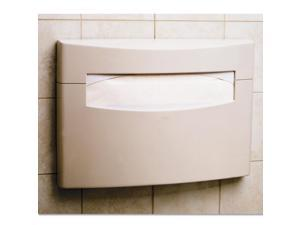 MatrixSeries Toilet Seat Cover Dispenser 16 1/8x2 1/2x11 1/2 Gray ABS Plastic