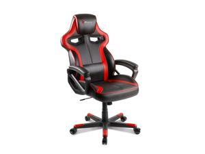 Arozzi Milano Series Enhanced Gaming Chair, Red