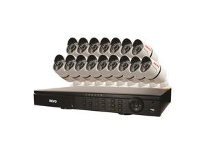 T-HD 16 Ch. 2TB DVR Surveillance System with 16 T-HD 1080p Bullet Cameras