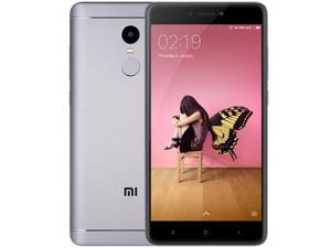 Xiaomi Redmi Note 4X 4G Phablet 5.5'' Android 6.0 Snapdragon 625 Octa Core Fingerprint 3GB RAM 32GB ROM Smartphone, Grey (INTERNATIONAL VERSION)