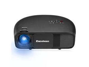 Excelvan CL760 3200 Lumens LED Home Theater Projector Support 1080P HD Movie, Black