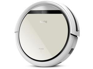 ILIFE V5 Intelligent Robotic Vacuum Cleaner with LCD Touch Screen Self-charge HEPA Filter Sensor Remote Controller