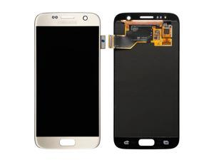 GG MALL LCD Display Touch Screen Digitizer Assembly for Samsung Galaxy S7 SM-G930 (Gold)