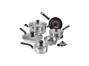 T-fal  C911SE74  Excite Stainless steel 14-Piece Cookware Set