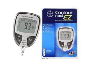 Bayer Contour Next EZ Blood Glucose Monitoring System 5-Second 7252 Model