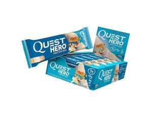 Quest Hero Protein Bar 60g Vanilla Caramel 10 Count Low Carb Gluten-Free
