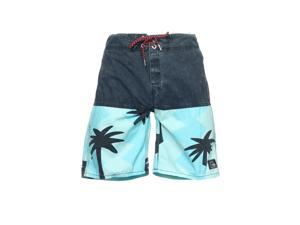 Quiksilver 'Butt Logo 19' Color Block Board Shorts Boardshorts (31