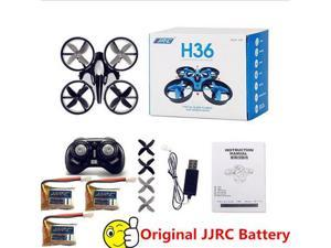 Wanmingtek JJRC H36 2.4GHz 6-axis Gyro Headless Drone Mode Mini RC Quadcopter RTF  Mini Drone RC toy(Black)