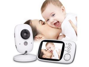 "Wanmingtek Wireless Video Baby Monitor 3.2""Color LCD Child Safety Monitoring Home Security Surveillance Indoor Digital Camera with 2-way Audio IR-cut Night Vision- Mother's Day Gifts"