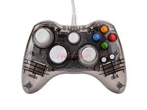 Wired Controller USB Gamepad Joypad For Microsoft Xbox 360 PC Windows10 Black