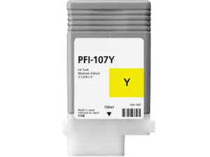 CANON 6708B001AA (PFI-107BK) INK / INKJET Cartridge Yellow