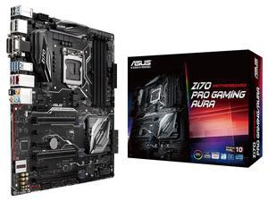 Refurbished: ASUS Z170 PRO GAMING/AURA Class-B RGB LGA1151 DDR4 5-Way Optimization ATX Motherboard with DisplayPort ...