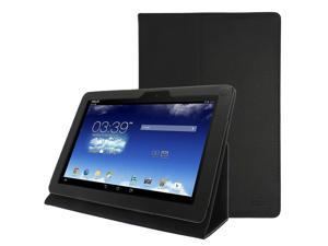 Celicious Black Textured PU Leather Tri-Stand Case for Asus Memo Pad 10