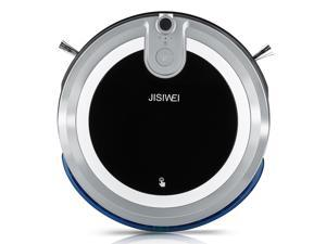 JISIWEI I3 Wi-Fi Enabled Robotic Vacuum Cleaner Automatic Self Charging Floor Cleaner with HD Camera and App Remote Control Voice Prompt