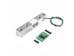 Digital Load Cell Weight Sensor 5KG Portable Electronic Kitchen Scale + HX711 Weighing Sensors Ad Module for Arduino