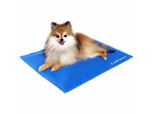LotFancy Chilly Mat Cooling Pet Dog Bed Indoor Summer Cool Gel Pad Vinyl-Chillz Mats