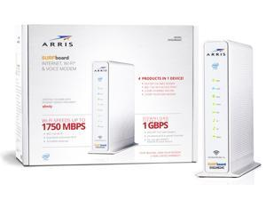 ARRIS SVG2482AC SURFBoard Internet, Wi-Fi & Voice Modem