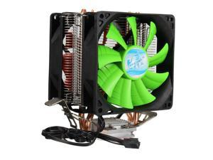 3 Pin Dual Quiet Fan CPU Cooler Heatsink For Intel LGA775/1156/1155 AMD AM2/AM2+/AM3