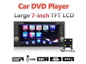 "7"" Car DVD Video Player Stereo Radio Rear View Camer Display Bluetooth For Toyota Hilux Land Cruiser Corolla Camry"