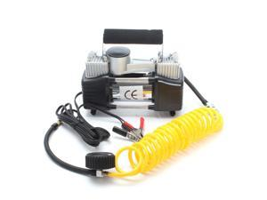 Portable 12V 150 PSI Car Van Electronic Tyre Air Compressor Inflator Pump Heavy Duty Metal with Carry Bag