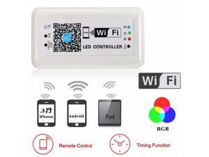 DC12-24V Wireless WIFI RGB LED Strip Light Controller Remote For iOS Android